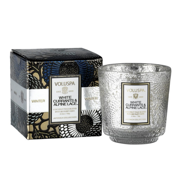 White Currants & Alpine Lace Mini Candle