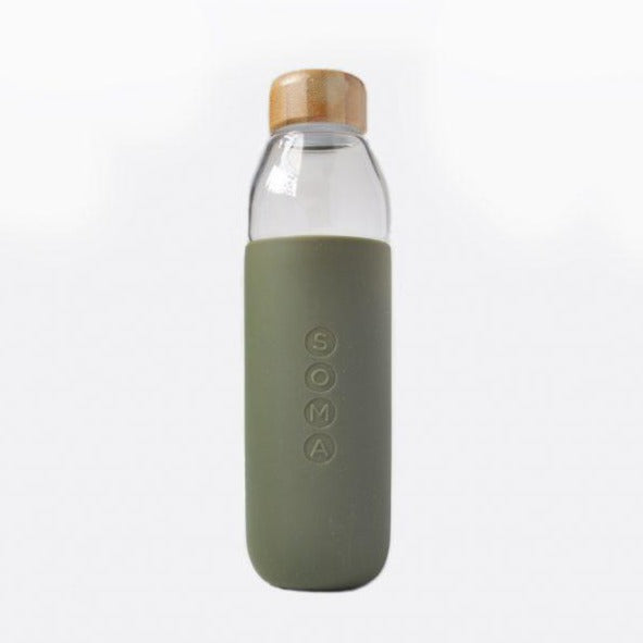 Olive Water Bottle
