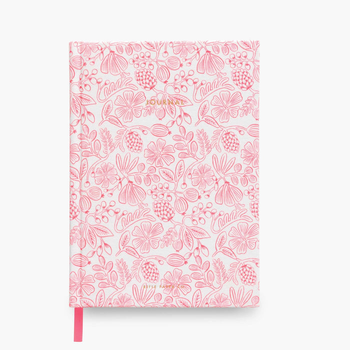 Moxie Floral Fabric Notebook