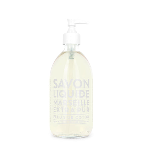 16.9 oz Cotton Flower Liquid Marseille Soap