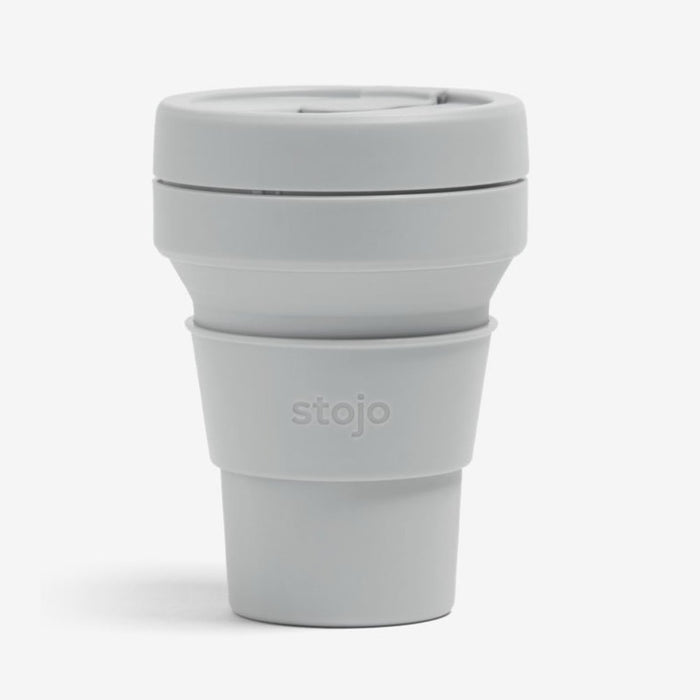 Cashmere Grey Collapsible Pocket Cup