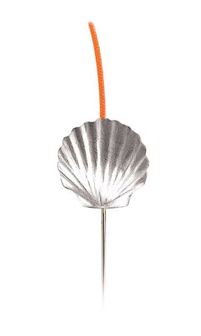 (02024) Small Scallop Shell Bookflip