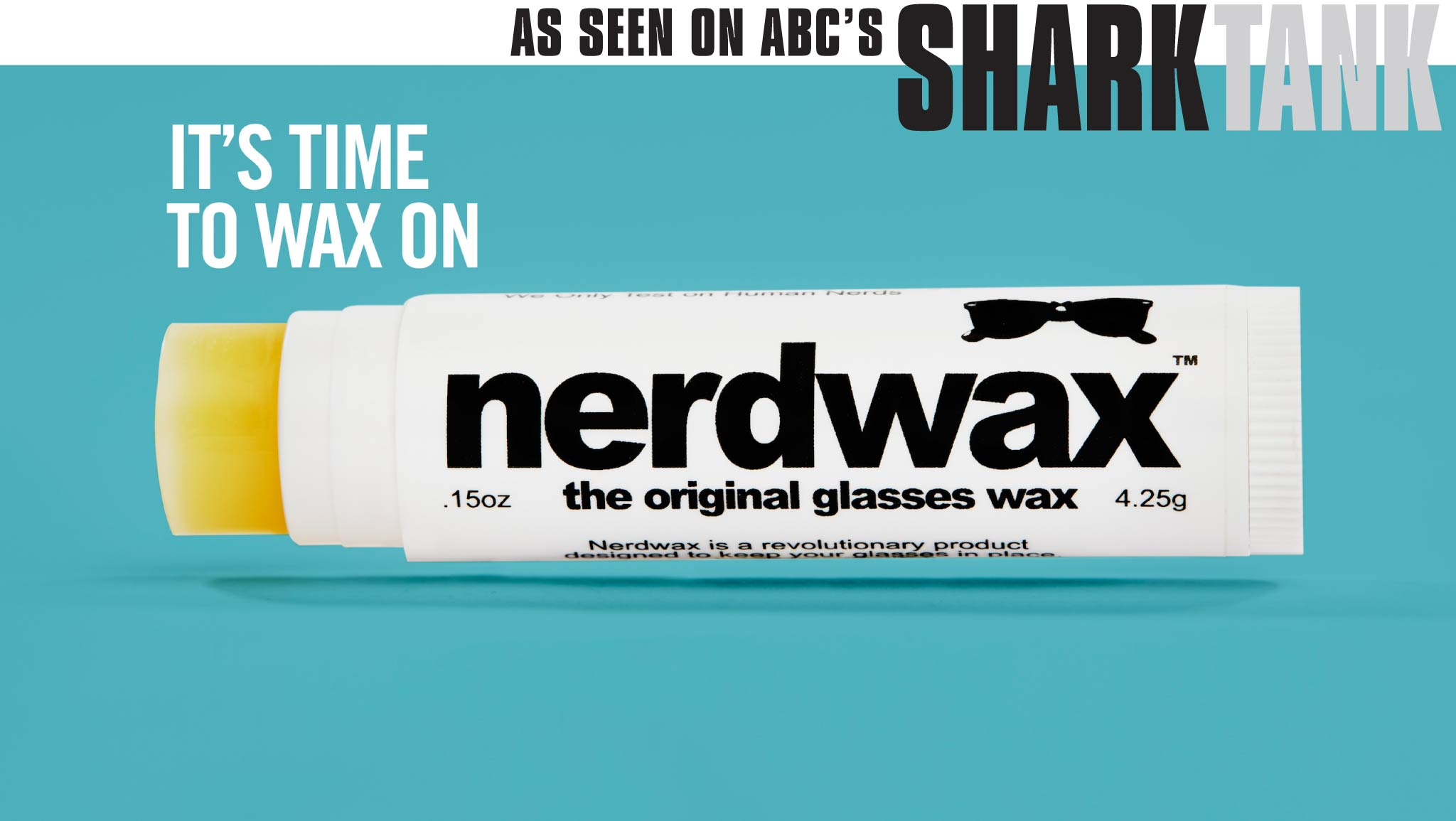 It's time to wax on and put an end to glasses slipping down your nose.
