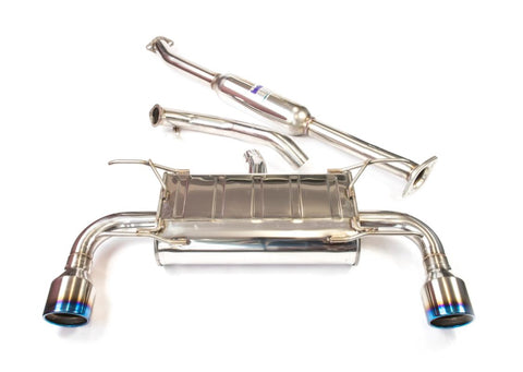 Invidia Q300 70mm Cat Back Exhaust w/ TI Tips - Subaru BRZ / Toyota 86 2012+