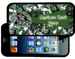 Millard West Wildcats Protective Smart Phone Cover (Winter Sports Edition)