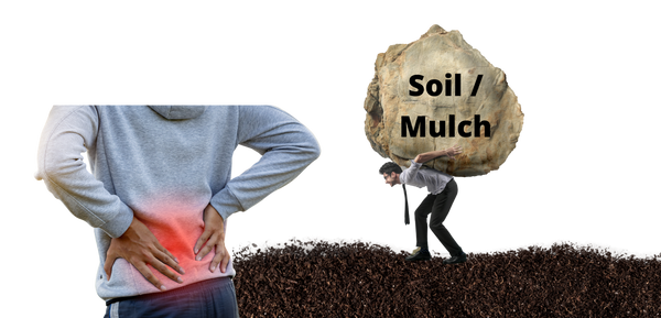 You'll need to carry heavy bags of soil and fertilizer