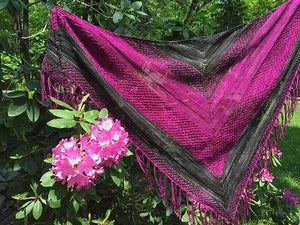 Syncopated Bees- Shawl Recipe