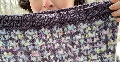 Candytuft Cowl- FREE PATTERN
