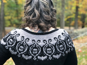 Rhinebeck Sweater 2018 Part 2- The Steek Is Strong With This One.