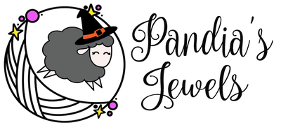 Pandia's Jewels Halloween Logo