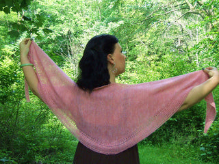 Love is a Prism- Tunisian Crochet Sample Shawl
