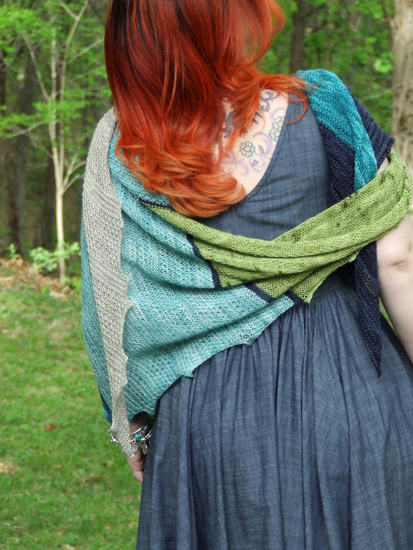 Elemental Shawl Pattern - Pandia's Jewels