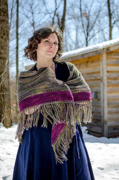 Gypsy Moss Shawl Pattern - Pandia's Jewels