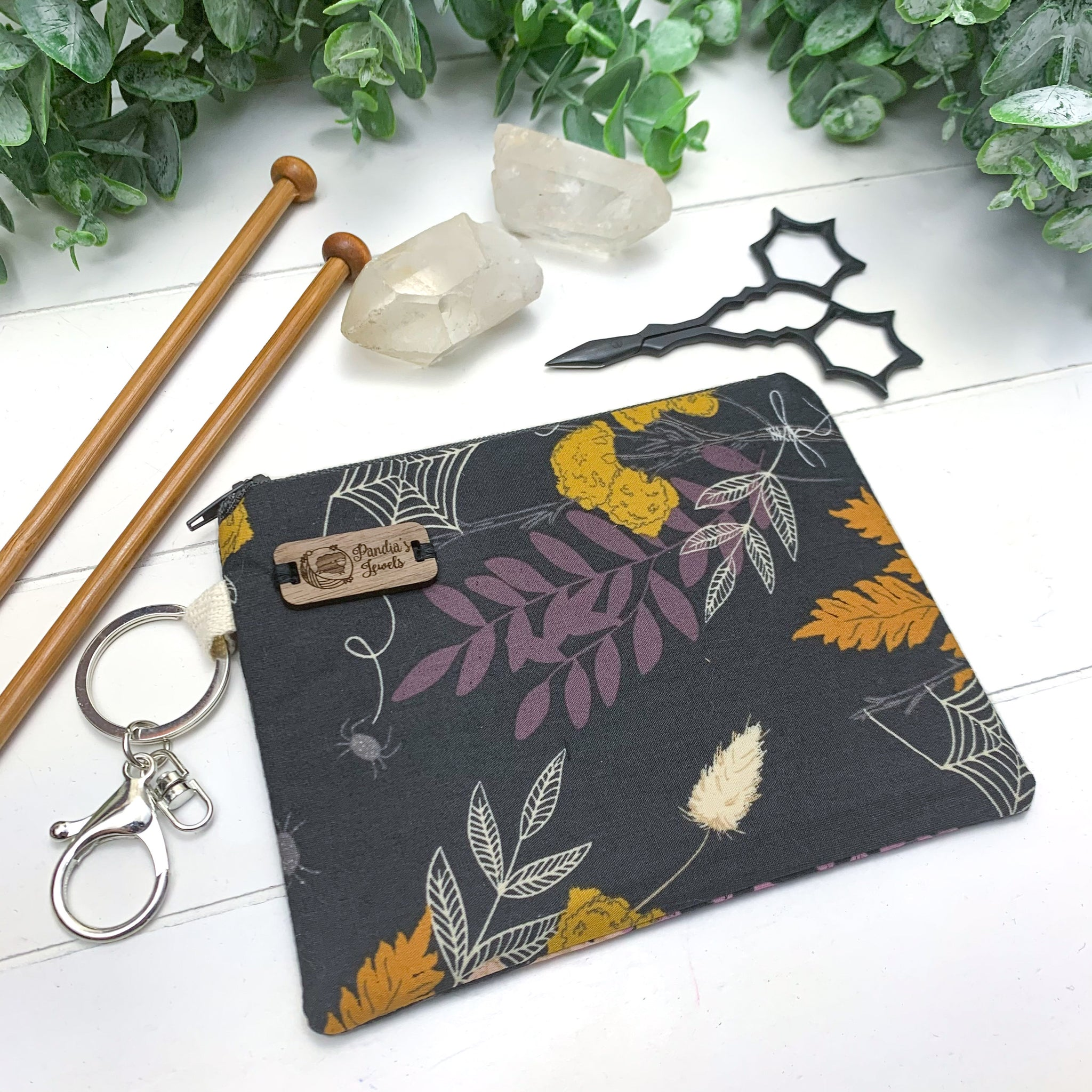 Cast A Spell - Extra Small Flat Notions Pouch