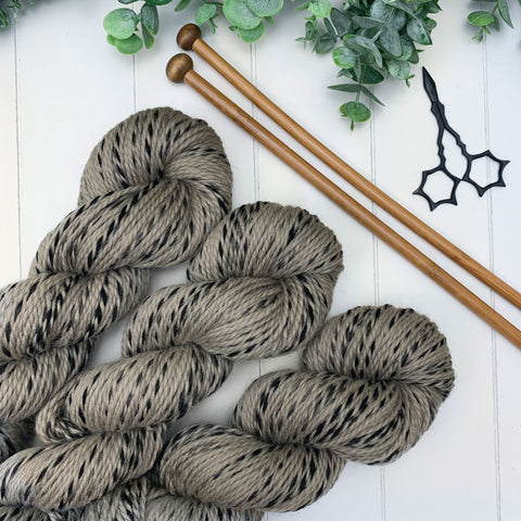 Northern Winds Shawl Kit- Whisper on Eclipse Worsted
