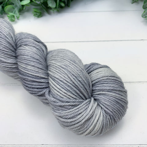 Destash Sale- Gray Pearl on Cozy Worsted