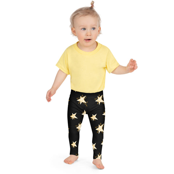 Gold Star Kid's Leggings