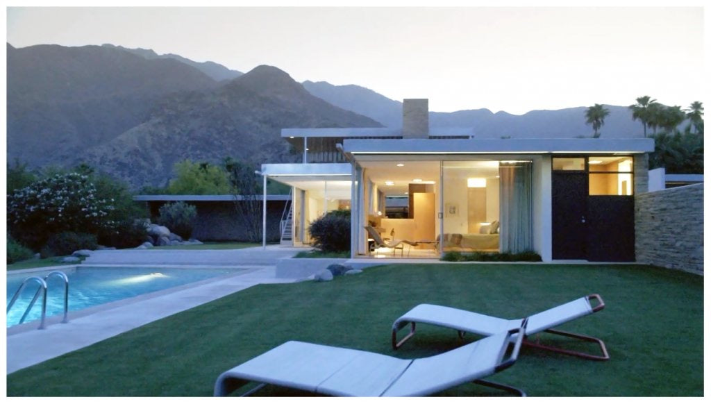 The Kaufman House in Palm Springs, CA