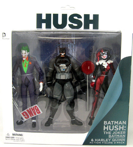 Batman Joker Harley Quinn Hush 3 pack