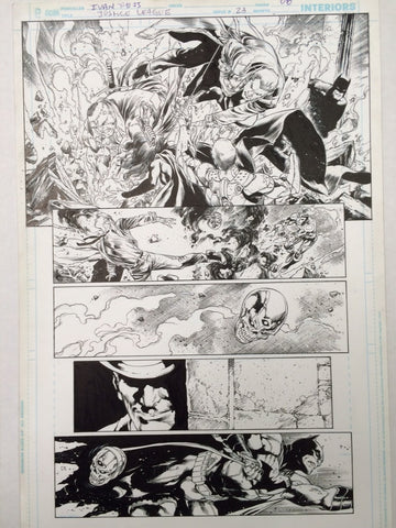 Justice League 8 page 23 by Ivan Reis