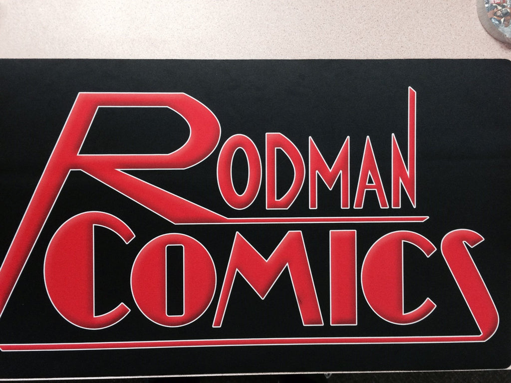 Rodman Comics Play mat