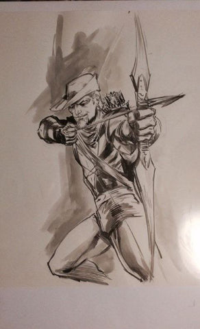 Green Arrow commission by Buzz
