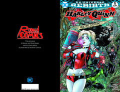 3 Rodman Comics Exclusive Comics Harley Quinn 1 Justice League vs Suicide Squad Ed Benes variants