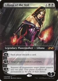 Liliana of the Veil Ultimate Masters Box Topper