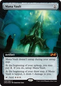 Mana Vault Ultimate Masters Box Topper