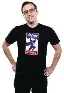 ACTION #1000 LOGO T/S XL