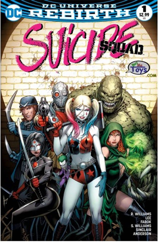 Suicide Squad 1 Rebirth Dale Keown Buy Me Toys Exclusive Variant