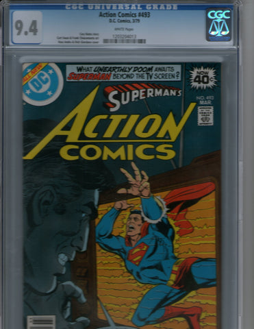 Action Comics 493 CGC 9.4 Superman