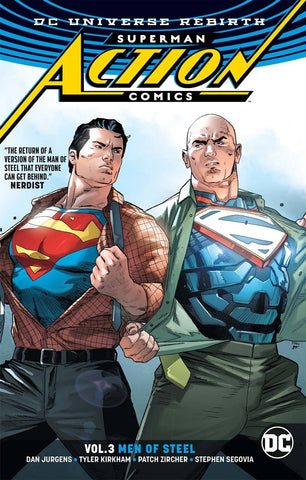 ACTION COMICS SUPERMAN TP VOL 3 MEN OF STEEL REBIRTH