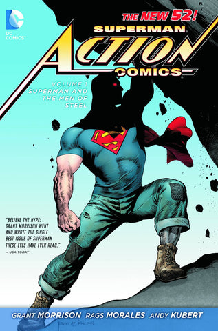 ACTION COMICS TP VOL 01 SUPERMAN MEN OF STEEL