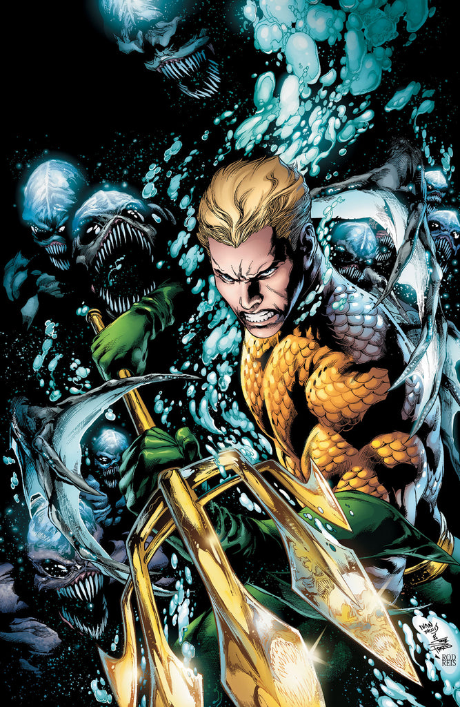 Aquaman trade paperback vol the Trench