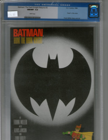 Batman the Dark Knight Returns 3 cgc 9.8