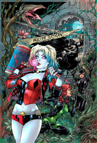 DC Comics Harley Quinn 1 Exclusive variant Rodman Comics Cover by Ed Benes