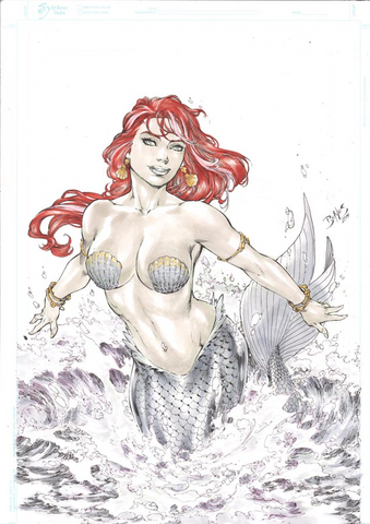 GFT LITTLE MERMAID 2 Grimm Fairy Tales Ed Benes variant cover