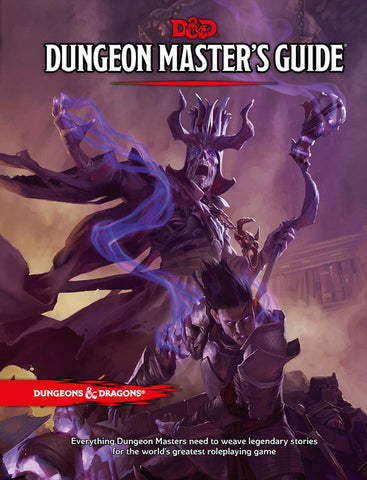 D&D Dungeons & Dragons Dungeon Master's Guide