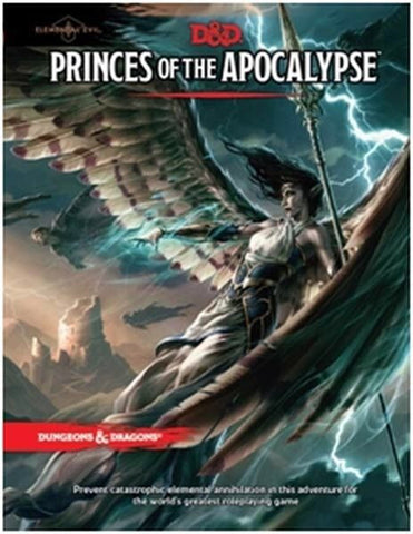 D&D Dungeons & Dragons Dungeon Princes of the Apocalypse