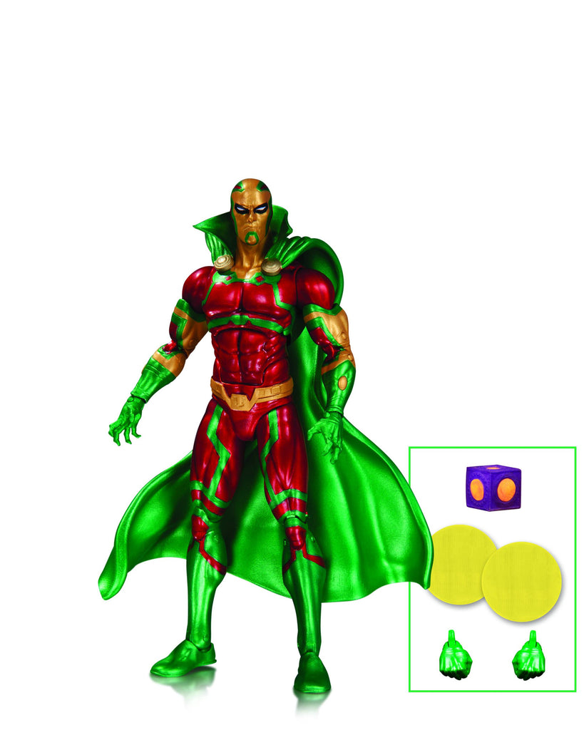 DC ICONS Mister Miracle Earth 2 Action Figure.