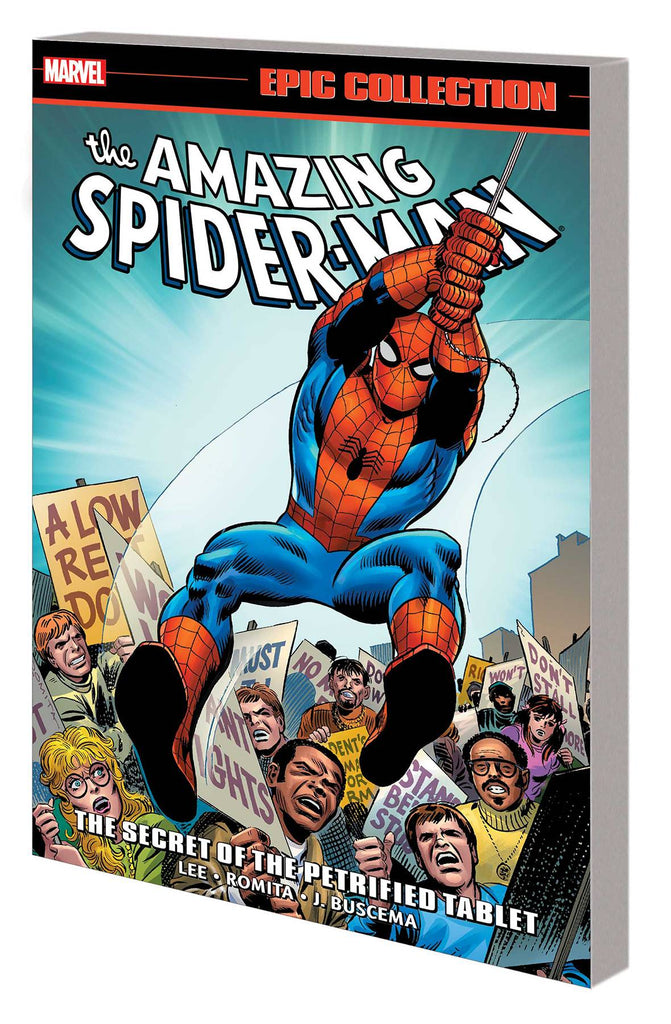 AMAZING SPIDER-MAN TP SECRET OF PETRIFIED TABLET