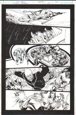 Green Lantern issue 17 page 6 Ivan Reis