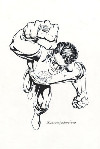 Green Lantern by Jon Bogdanove and Brett Breeding
