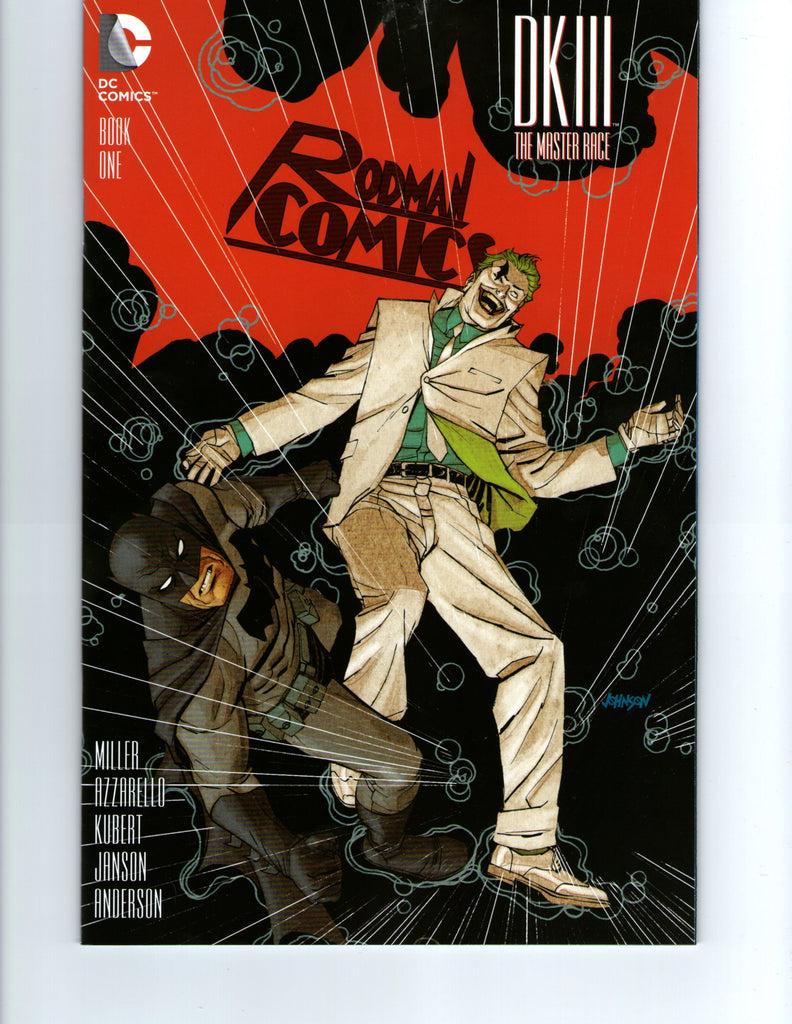 Dark Knight III the Master Race Rodman Comics variant