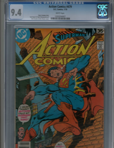 Action Comics 479 CGC Superman