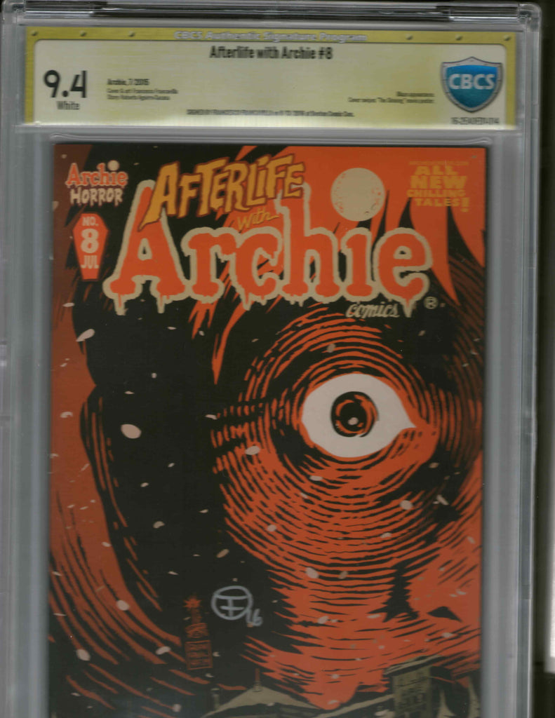 Afterlife with Archie 8 CBCS 9.4 Signed by Franesco Francavilla