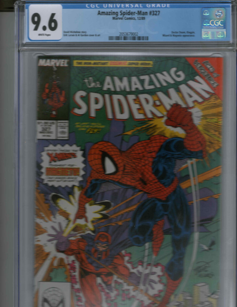 Amazing Spider-Man 327 CGC 9.6 Magneto Doctor Doom