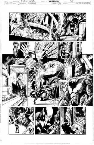 Justice League 19 page 3 by Ivan Reis