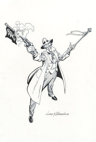 Joker by Garcia Lopez and Brett Breeding